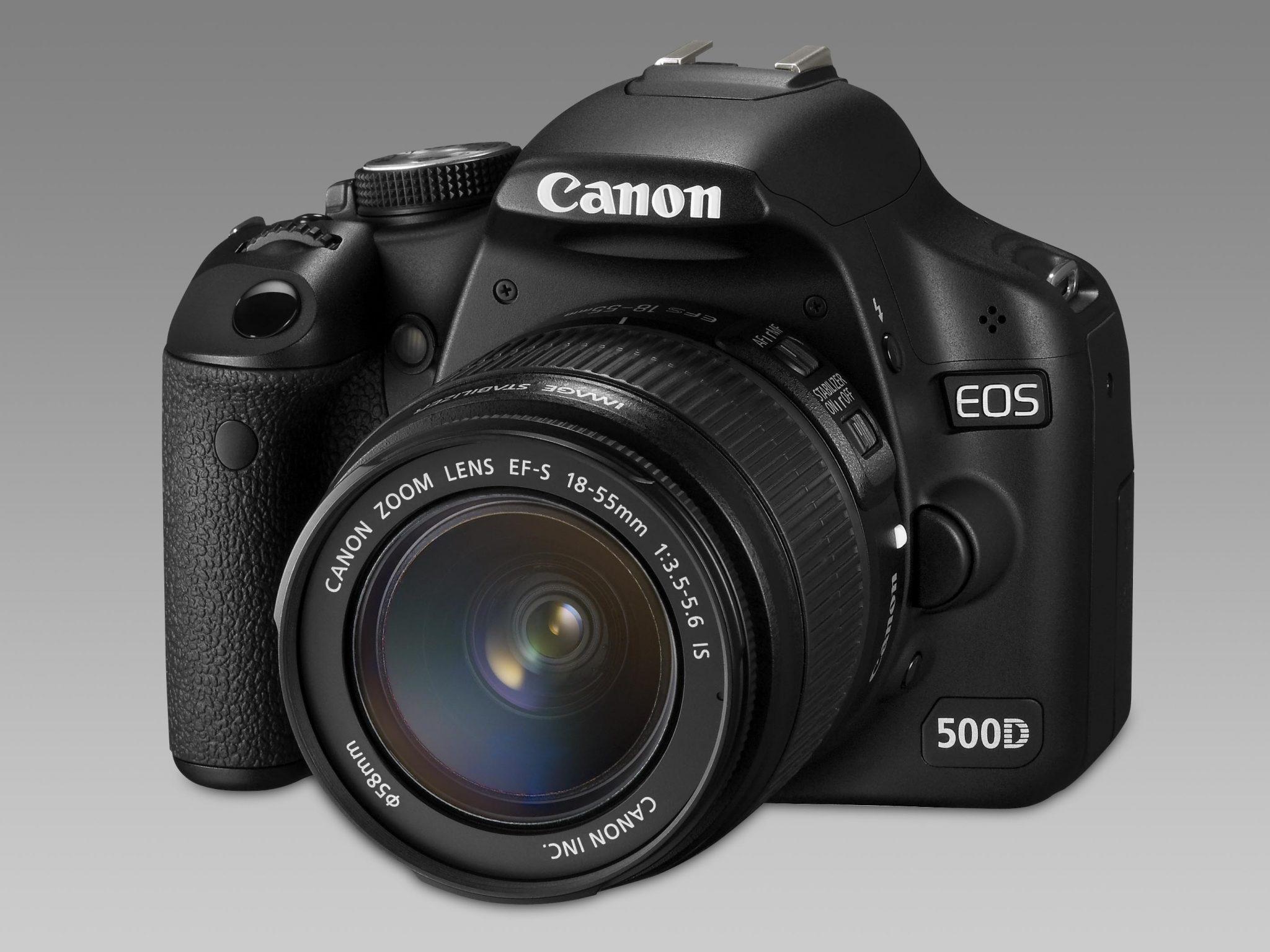 Canon: 10 millones de reflex digitales desde 2003