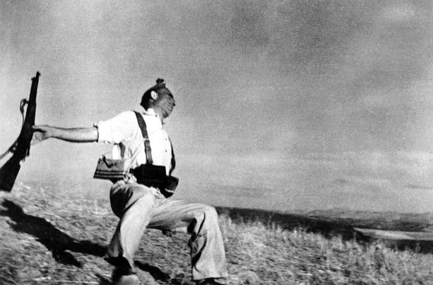 Robert Capa y Gerda Taro juntos en Madrid