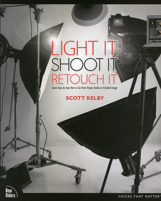 Un gran libro de iluminación y retoque, por Kelby