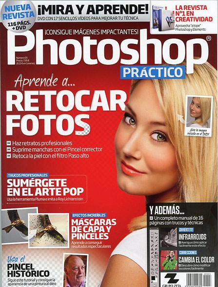 Photoshop Práctico, una revista que vale su peso en oro