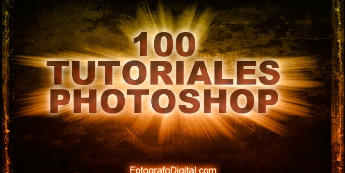 100 video-tutoriales de Photoshop en español | Fotografo digital y ...