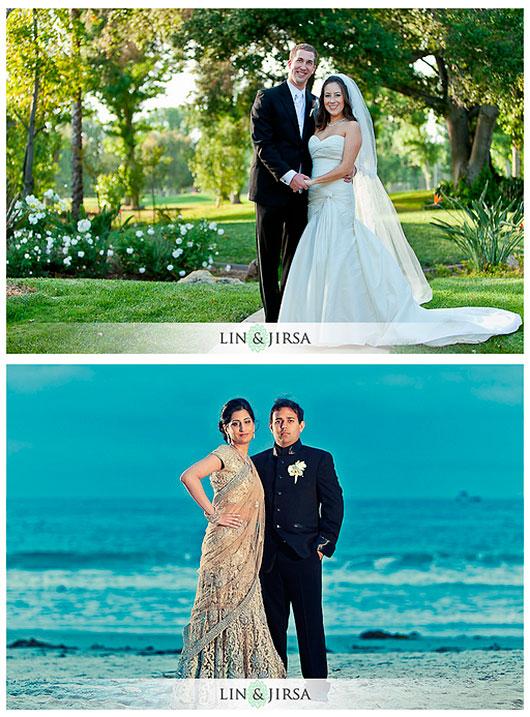 20 poses para fotografía de bodas