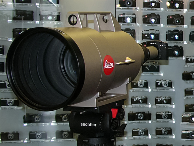 Leica 1.600 mm, telefoto en versión jeque
