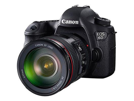 Nueva Canon 6D, la entrada al formato completo con GPS