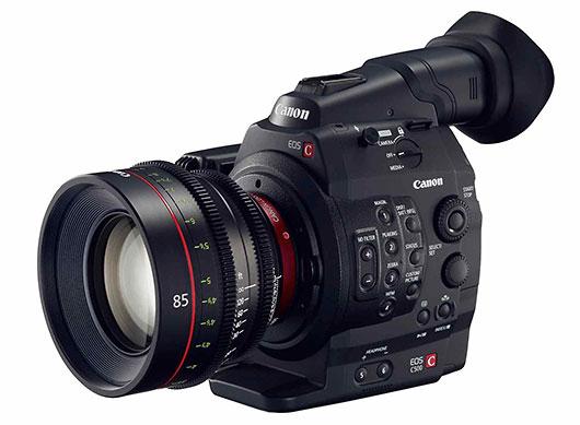 Cámaras de cine Canon EOS, la visión profesional