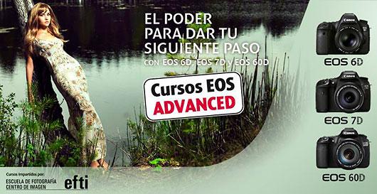 Cursos EOS Advanced, gratis con la compra de cámaras Canon