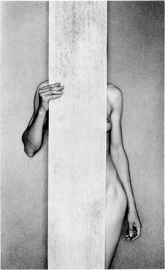 El desnudo autorretrato de Violeta Bubelyte