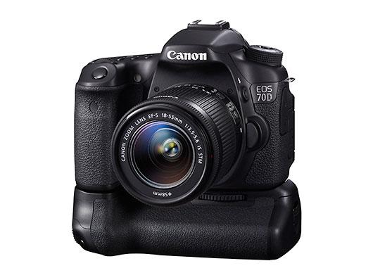 Nueva cámara Canon 70D, con enfoque automático de vídeo