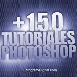 150 tutoriales Photoshop