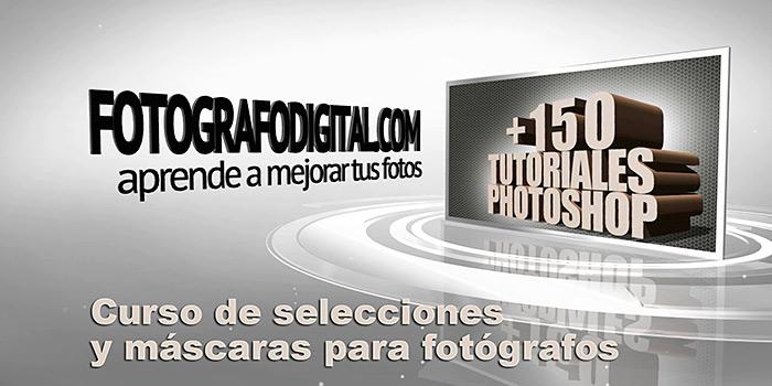 Curso completo y gratuito de iniciación  a las selecciones y máscaras en Photoshop para fotógrafos