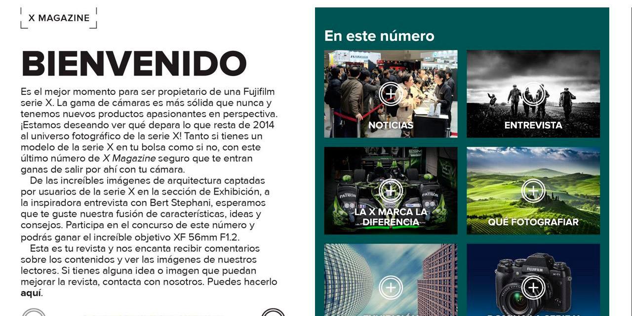 X Fujifilm Magazine, una revista de fotografía centrada en la Serie X pero de interés general
