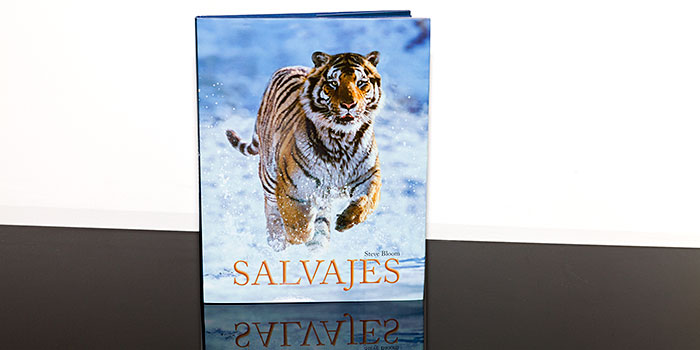 Salvajes, libro de Steve Bloom, editorial-Lunwerg