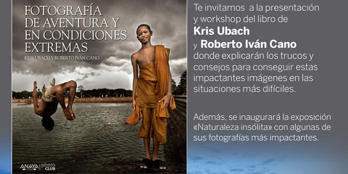 Exposición y clase gratuita sobre fotografía de aventura y en condiciones extremas