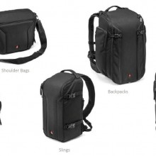 Bolsas de fotografía, Manfrotto y Tenba lanzan múltiples modelos y opciones