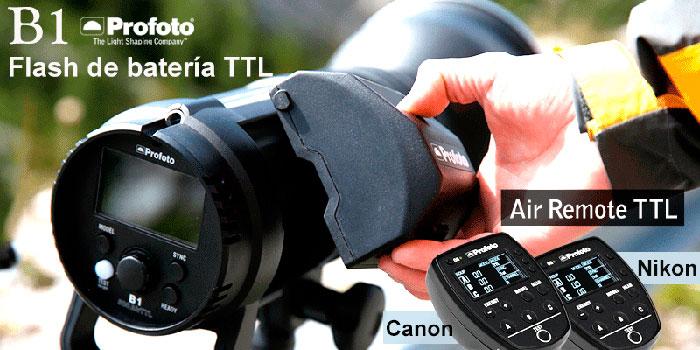 Profoto-B1-con-TTL-Nikon-y-Canon