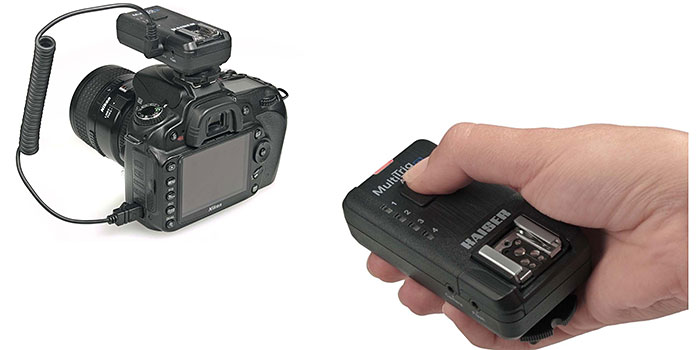 Kaiser MultiTrig AS 5.1, disparador de cámara y de flash TTL de radio