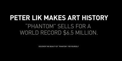 Peter Lik vende una foto típica de Antelope Canyon por 6,5 millones de dólares
