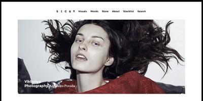Sicky Magazine, una revista de moda y tendencias española con vocación internacional
