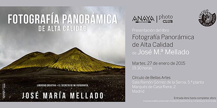 El martes presentación pública del último libro de José María Mellado en el Círculo de Bellas Artes de Madrid