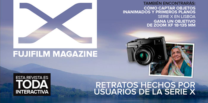 Nuevo número de la revista de fotografía Fujifilm Magazine