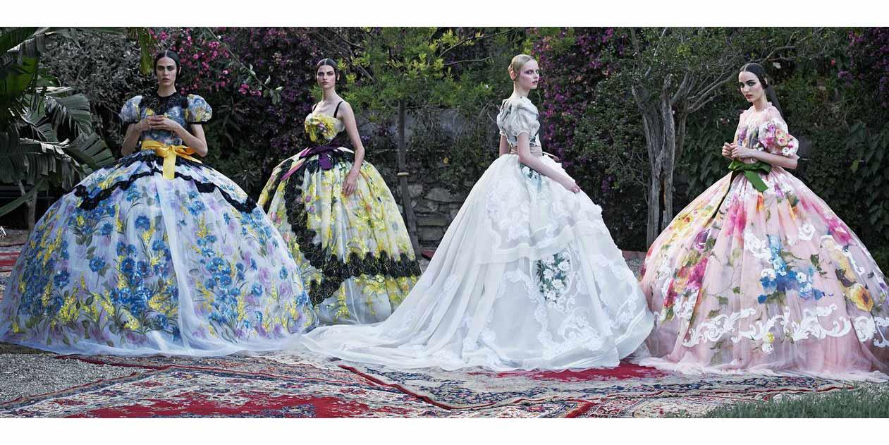 Vogue like a painting, fotografía y pintura hermanados en la cámara de grandes de la imagen de moda