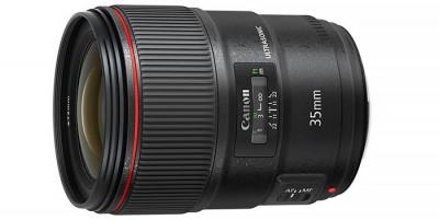 Nuevo objetivo  Canon EF 35 mm f/1,4L II USM, la renovación de un clásico