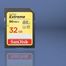Nueva tarjeta SanDisk Extreme Plus SDHC UHS-I, una fórmula 1 diseñada para el vídeo 4K