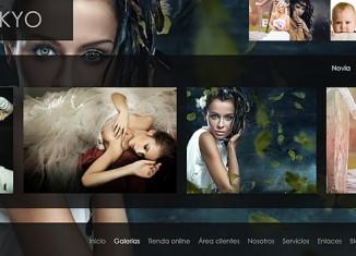 Arcadina, páginas web para fotógrafos