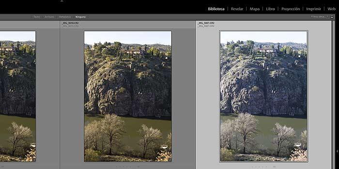 Tutorial: igualar automáticamente la exposición de dos fotografías con Lightroom