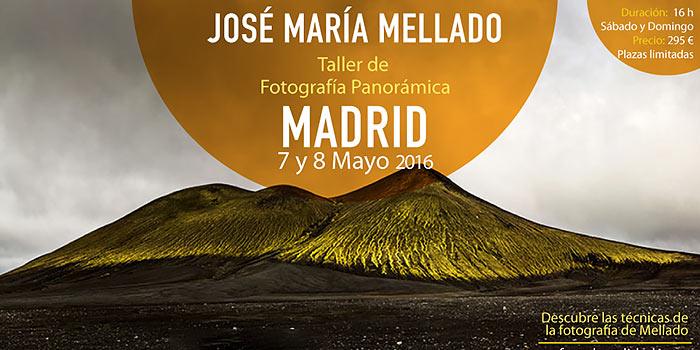 Gana una plaza gratuita para el taller de fotografía panorámica de José María Mellado
