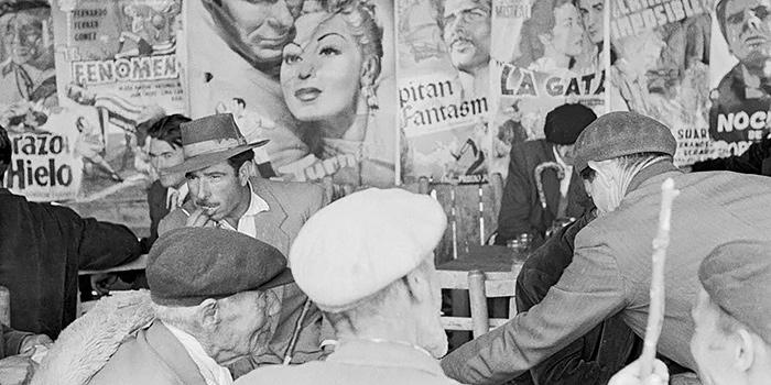 España años 50, un libro fotográfico de Carlos Saura sobre un país muy lejano