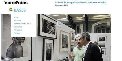 entreFotos selecciona 35 fotógrafos para participar en la XVIII edición de la feria