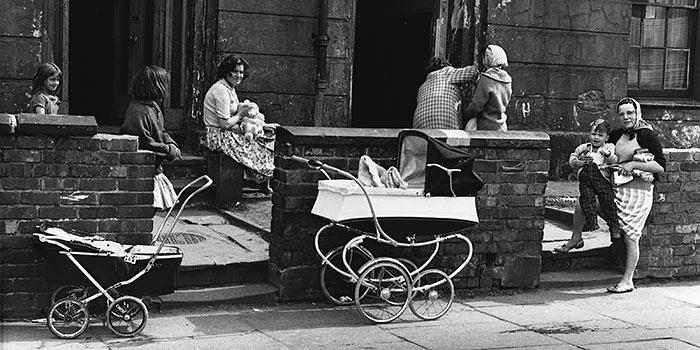 Una visión documental de Shirley Baker sobre proletariado inglés de los 60