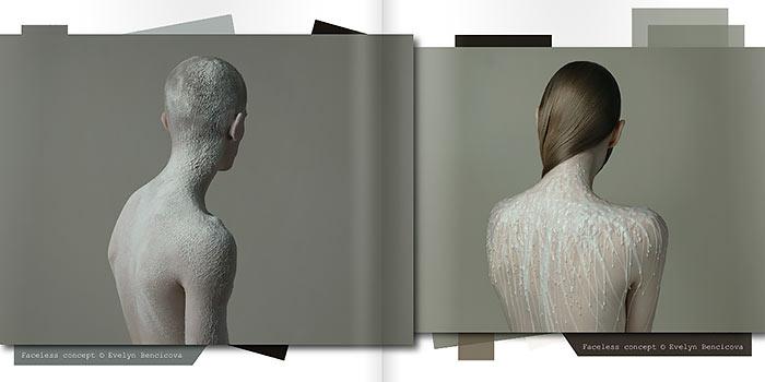 Photographize una revista de fotografía con atractivos fotomontajes surrealistas