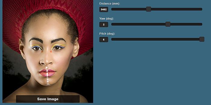 Nuevo software online para cambiar automáticamente la perspectiva de un retrato