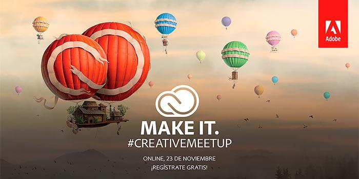 Adobe Meetup Madrid, una cita con la creatividad abierta a todo el mundo por internet