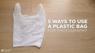 Todo lo que una bolsa de plástico puede hacer por tu fotografía, en serio