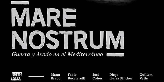 Guerra y éxodo en el Mediterráneo, exposición del colectivo de reporteros MeMo en Zaragoza