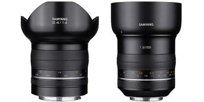 Nuevos objetivos Samyang de 14 y 85mm luminosos, de alta calidad y resolución