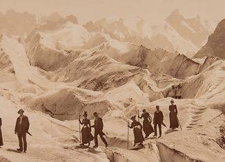 fOTOGRAFÍA DE MONTAÑA HISTÓRICA John-Jullien-CIRCA 1880 B
