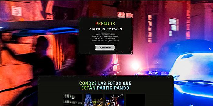 Concurso de fotografía La noche en una imagen, con 2.000€ de premio