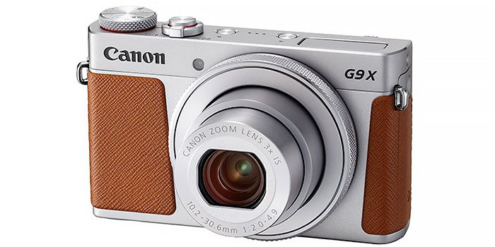 Canon powershot-g9-x-mark-ii-silver-fsl