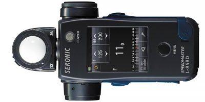 Nuevo Sekonic SpeedMaster L-858D, un fotómetro de altísima gama