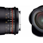 Nuevo objetivo Samyang 16mm T2.6 para vídeo DSLR, con anillo de enfoque dentado incorporado
