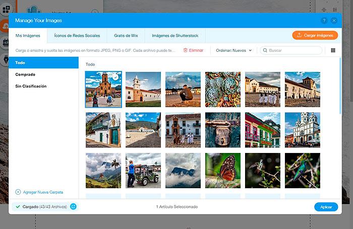 crear una página web gratuita para fotógrafos