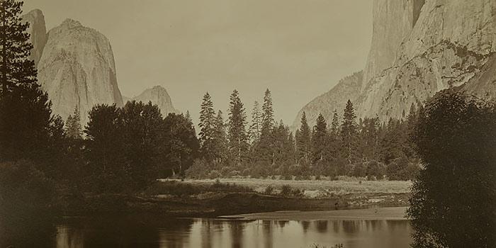 Los bellos colodiones de paisaje norteamericano de la colección Sorolla, en Casa América