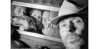 Las singulares fotos de Ryan Weidman, el artista-taxista, en Barcelona