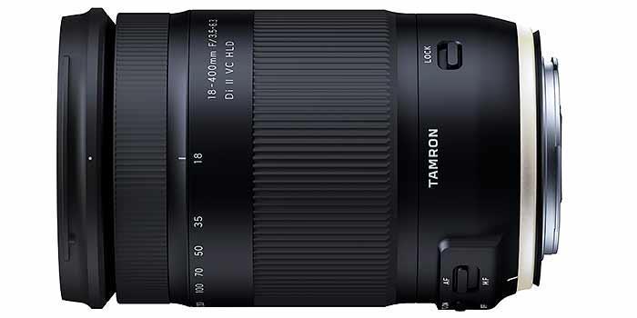 Tamron lanza un objetivo todoterreno 24-400 mm para cámaras APSC Canon y Nikon