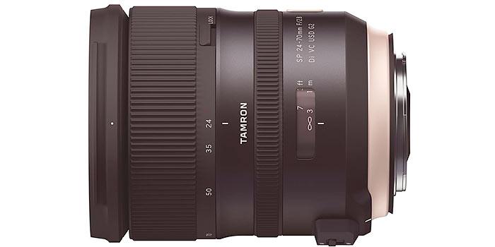 Tamron lanza un objetivo 24-70mm F/2.8 de alta gama para Canon y Nikon