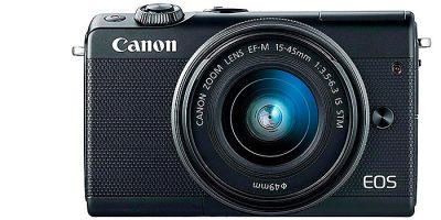 Canon EOS M100, la nueva sin-espejo APSC de 24 Mpx
